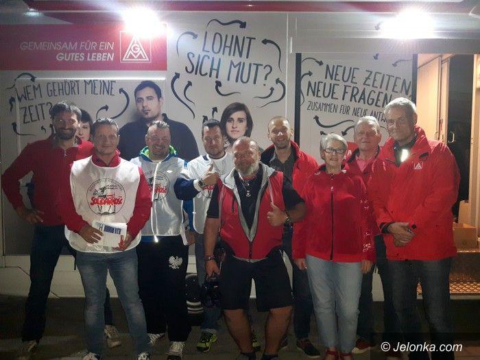 Region: Akcja Solidarności w Niemczech