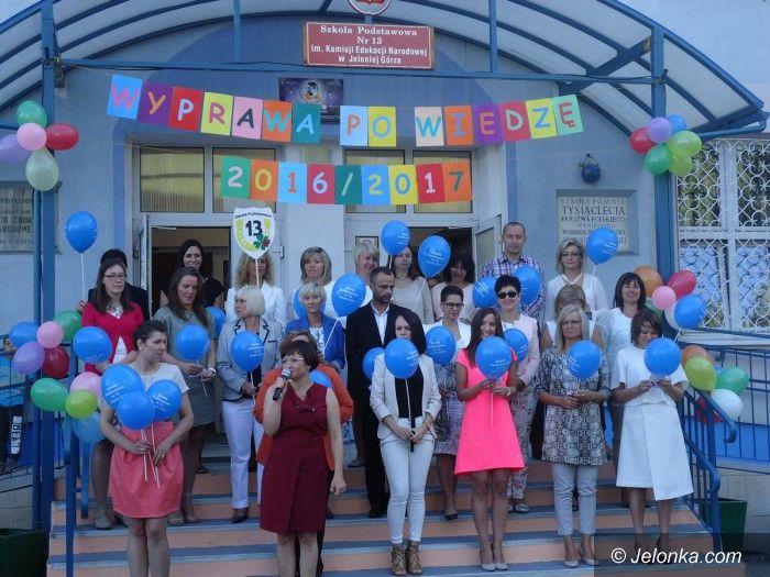 Jelenia Góra: Nietypowa inauguracja roku szkolnego w SP13