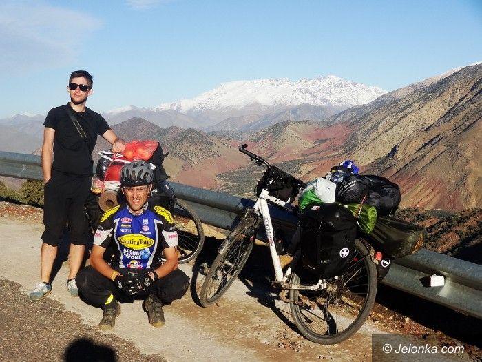 Jelenia Góra: Jeleniogórzanin chce zdobyć na rowerze świat