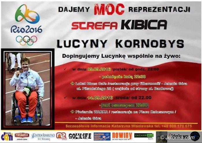 Jelenia Góra: Kibicujmy wspólnie Lucynie Kornobys!