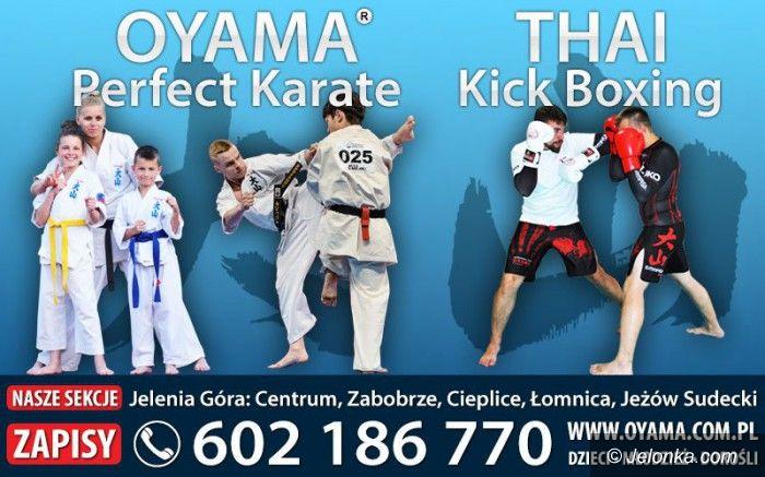 Jelenia Góra: Nabór do grup Oyama Karate i Thai Kick Boxingu