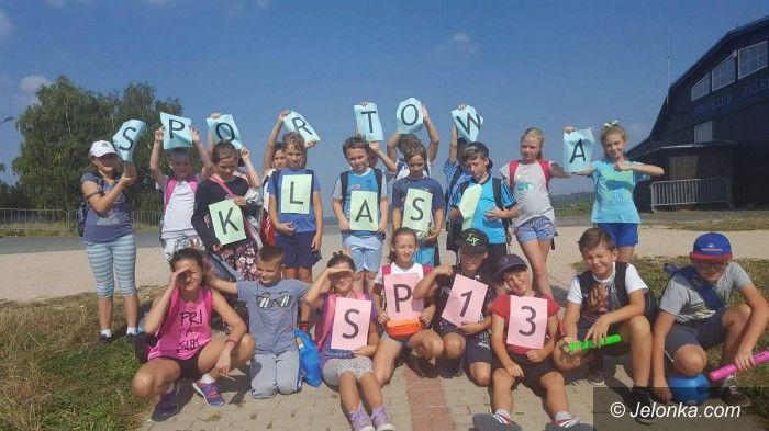 Jelenia Góra: Europejski projekt w SP13. Rekord szkoły ustanowiony