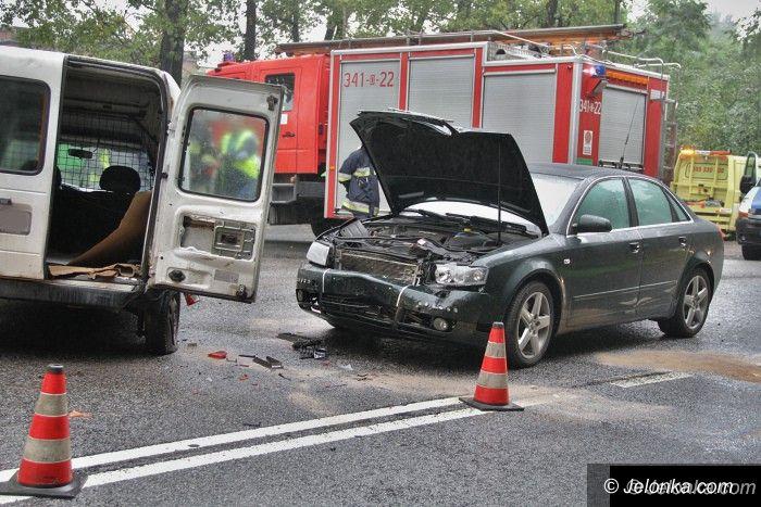 Region: Zderzenie dwóch aut na drodze do Karpacza
