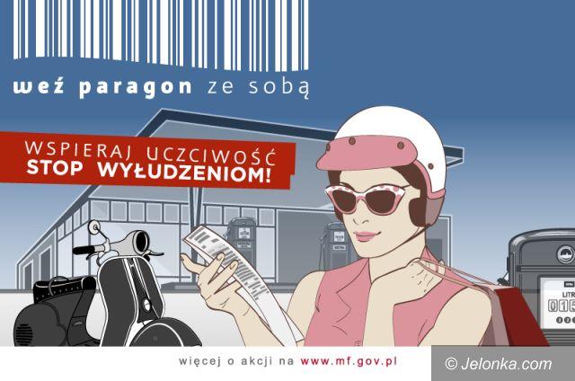 """Region: Jeleniogórska """"skarbówka"""" zachęca: Weź paragon"""