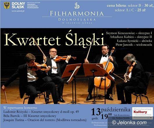 Jelenia Góra: Koncert Kwartetu Śląskiego