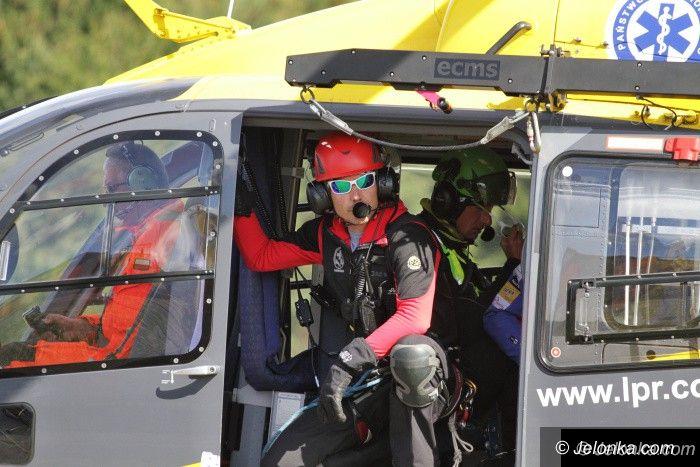 Region: Elita ratownictwa górskiego ćwiczy w Karkonoszach