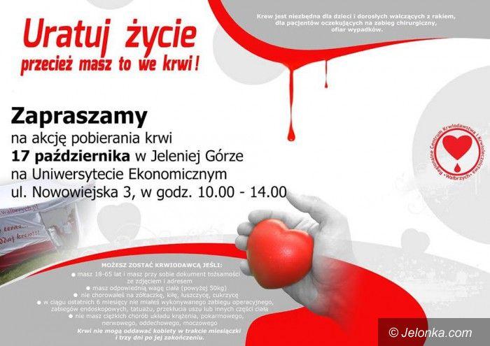 Jelenia Góra: Dzień Krwiodawcy u ekonomistów