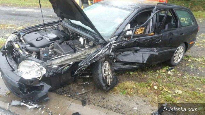 Region: Cztery samochody zderzyły się w Radomierzu