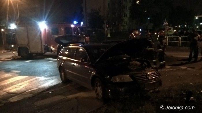 Jelenia Góra: Kolizja na ulicy Ogińskiego w Jeleniej Górze