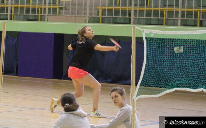 Jelenia Góra: Trwa turniej badmintona szkół ponadgimnazjalnych