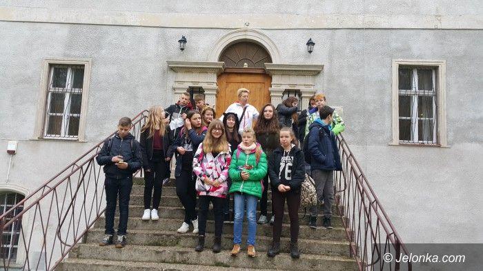 Region: Spacer uczniów z Gimnazjum nr 3 do Bukowca