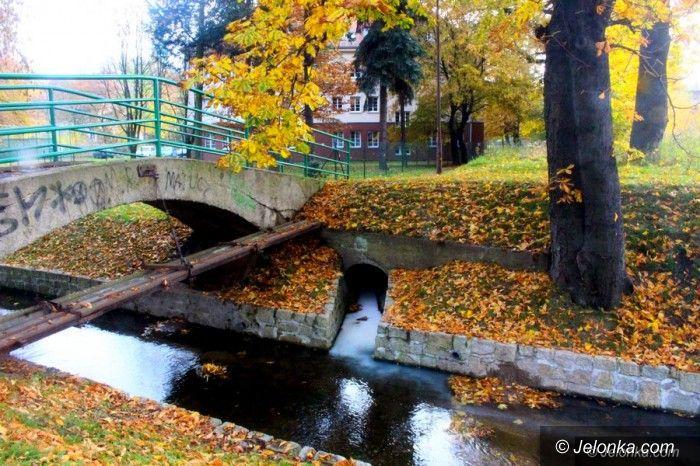 Jelenia Góra: Wyciek do kanału Młynówka