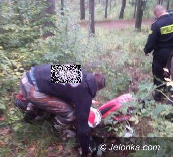 Region: Przeciw nielegalnym rajdom po lasach