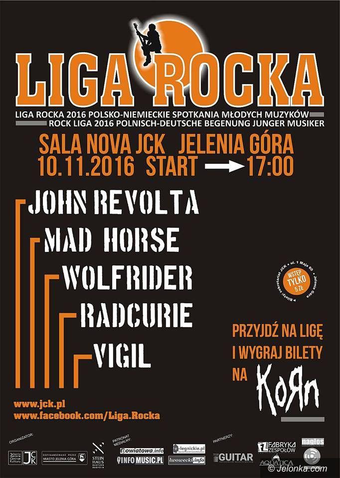 Jelenia Góra: Liga Rocka już w czwartek