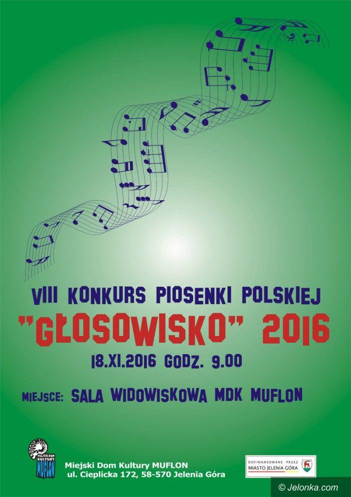 """Jelenia Góra: VIII Konkurs Piosenki Polskiej """"Głosowisko"""""""