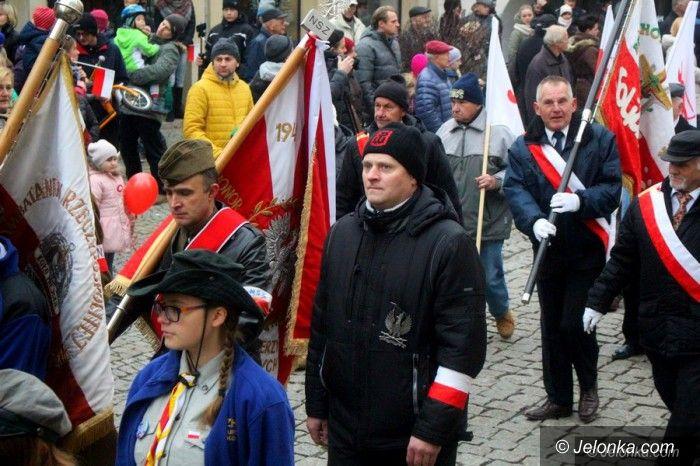 Jelenia Góra: Jeleniogórzanie świętowali niepodległość