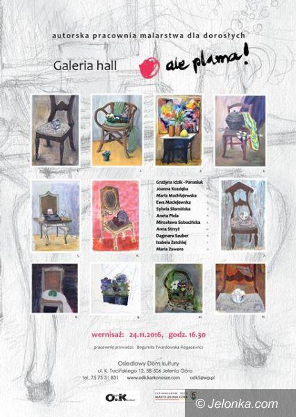 """Jelenia Góra: """"O! Krzesło!"""" w Galerii HALL"""