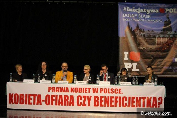 Jelenia Góra: Kijowski, Szczuka i inni w Cieplicach o prawach kobiet