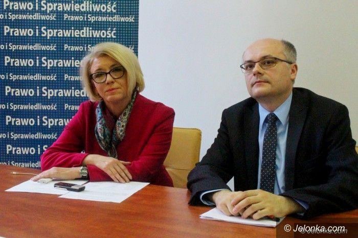 Jelenia Góra: PiS podsumował rok rządów