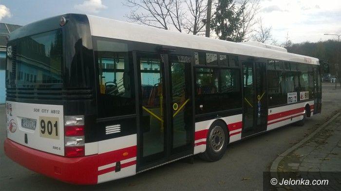 Jelenia Góra: Kolejne testy autobusu w Jeleniej Górze
