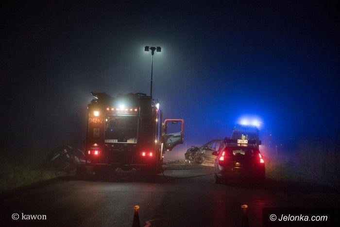 Jelenia Góra: Wypadek na drodze do Karpacza