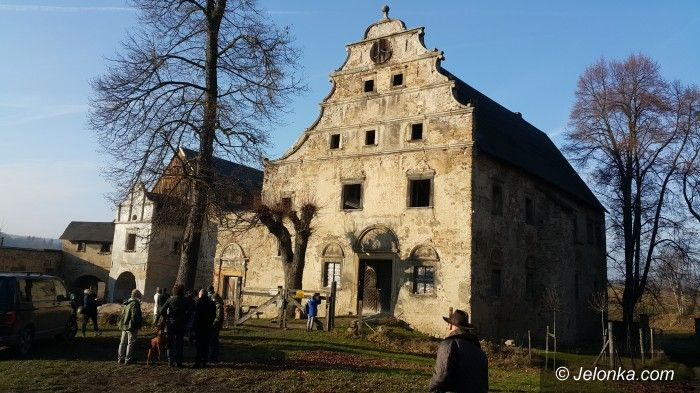 Region: Strzały przed Pałacem Książęcym we Wleniu