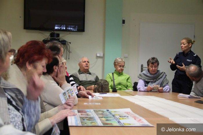 Jelenia Góra: Spotkanie z seniorami w siedzibie KSON