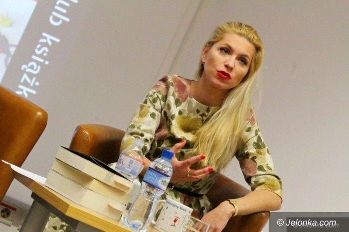 Jelenia Góra: Katarzyna Bonda o sobie i swoich kryminałach