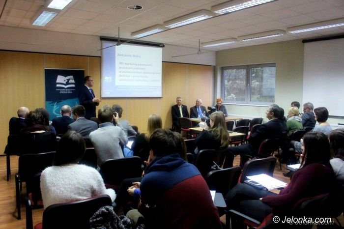 Jelenia Góra: Prezentowali efekt pracy studentów i wykładowców