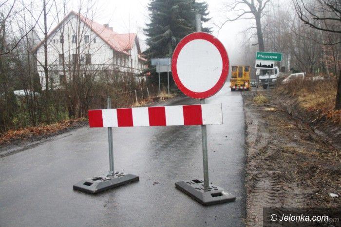 Powiat: Droga Jeżów Sudecki–Czernica prawie gotowa