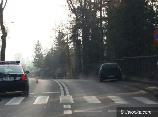 Jelenia Góra: Wypadek na Sudeckiej. Piesza w szpitalu