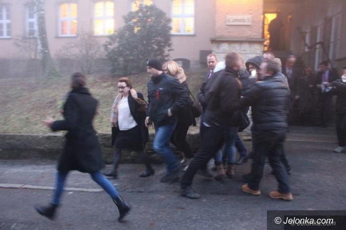 Jelenia Góra: Czy doszło do napaści na minister edukacji?