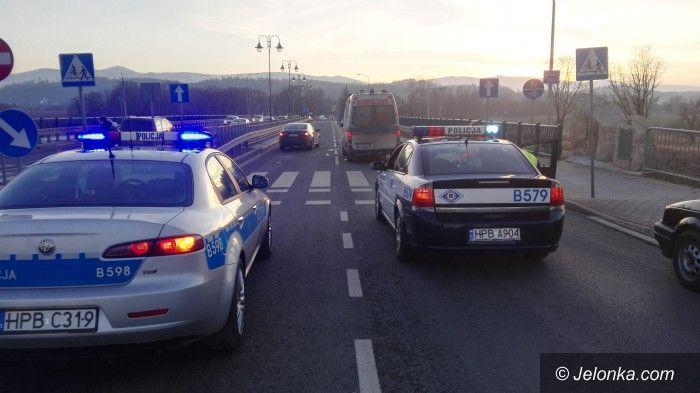 Jelenia Góra: Śmiertelny wypadek w Grabarowie (aktualizacja)