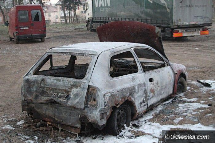 Jelenia Góra: Kolejne podpalenie samochodu