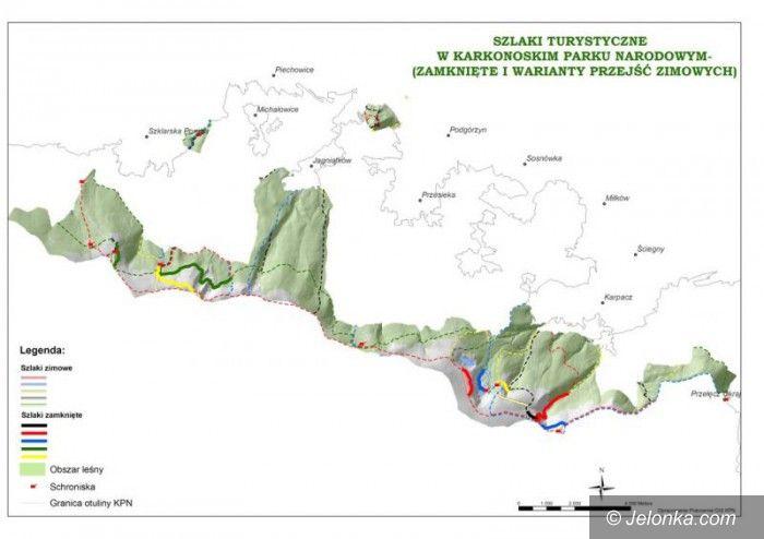 Region: Trzeci stopień zagrożenia lawinowego w Karkonoszach
