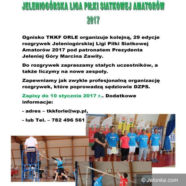 Jelenia Góra: Siatkarscy amatorzy na start