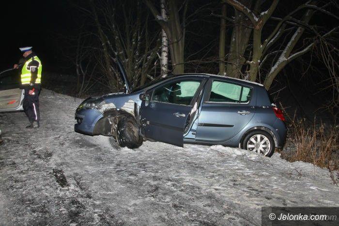 Region: W Wojcieszycach zderzyły się dwa samochody