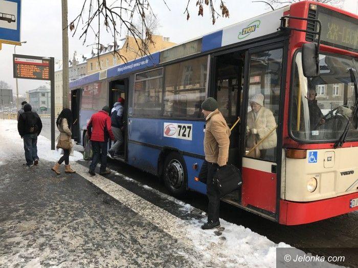 Jelenia Góra: Zima MZK niestraszna