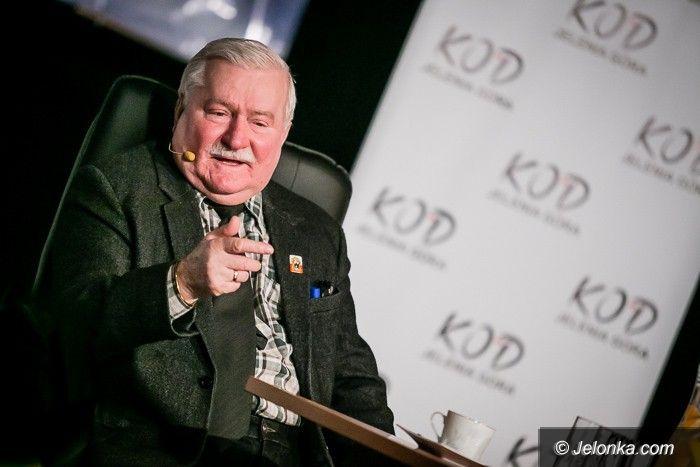 Jelenia Góra: Lech Wałęsa w Jeleniej Górze o Polsce