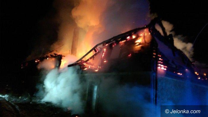 Region: Spłonął dom w Staniszowie