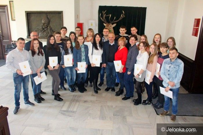 Jelenia Góra: Studenci z Ukrainy gościli w Jeleniej Górze
