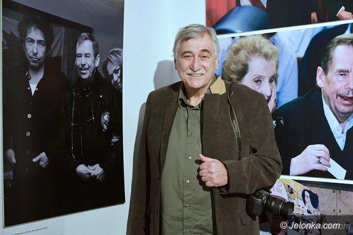 Szklarska Poręba: Vaclav Havel na fotografii w Domu Hauptmannów