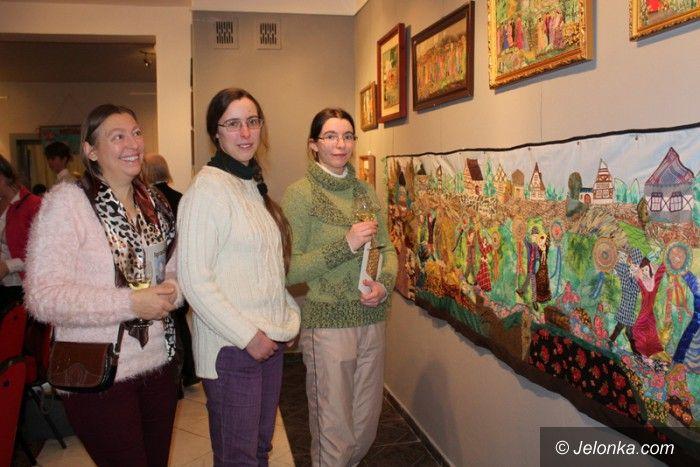 Jelenia Góra: Piękno patchworku Heleny Krawczyk–Demczuk