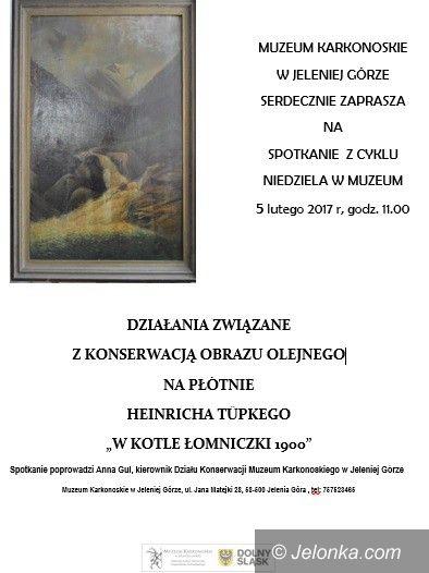 Jelenia Góra: Niedziela w muzeum: jak obrazy odzyskują blask