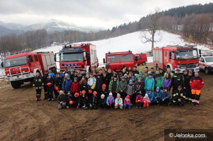 Karpacz: Młodzieżowe drużyny pożarnicze integrowały się