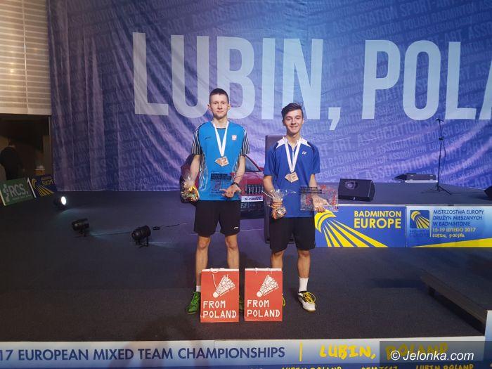 Lubin: Srebro naszych badmintonistów