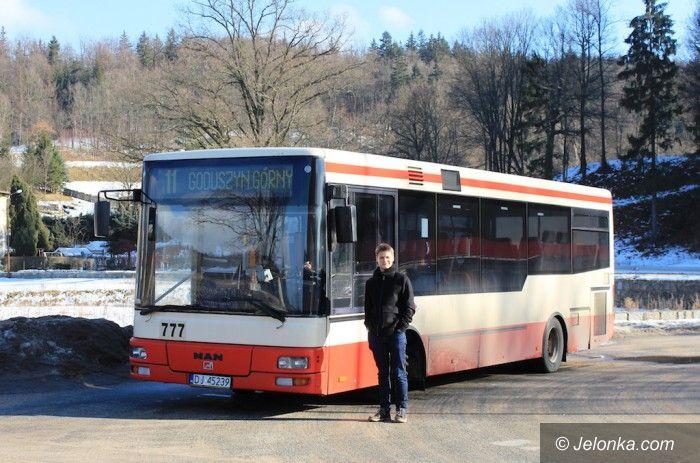 Jelenia Góra: Drezdeńczyk w jeleniogórskich autobusach