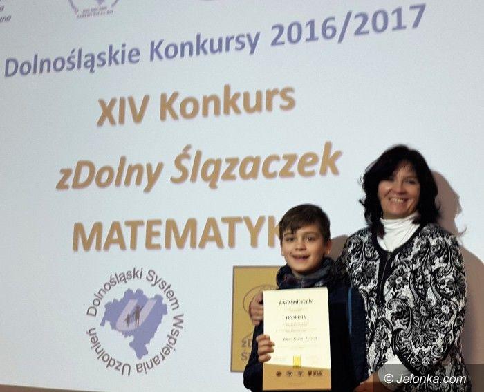 Janowice Wielkie: Zdolny szóstoklasista z Trzcińska
