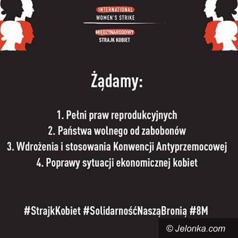 Jelenia Góra: Już jutro Strajk Kobiet w Jeleniej Górze