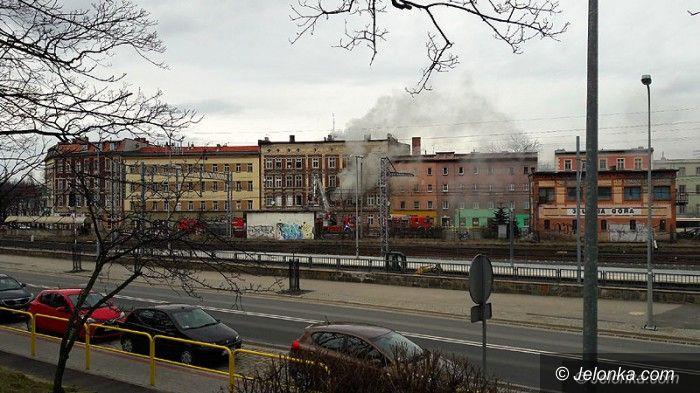 Jelenia Góra: Pożar przy ul. Wincentego Pola(aktualizacja)